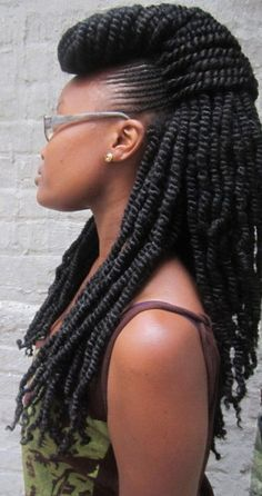 long thick and beautiful twists African Hairstyles, Weave Hairstyles, Cool Hairstyles, Creative Hairstyles, Black Hairstyles, Afro Punk, Twists, Twist Braids, Dreads