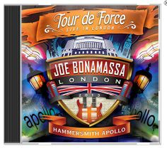 "Joe Bonamassa ""Tour De Force – Live In London"" HAMMERSMITH APOLLO, 2CD"