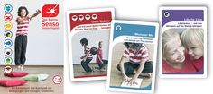 movement cards trains the senses, the motoric capability of your kid, makes fun, easy to use for teachers, parents, therapists, ...