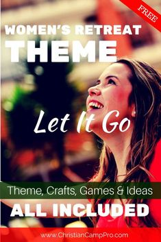 Let It Go: A Freeing Women's Retreat Theme - Christian Camp Pro Christian Retreat, Christian Camp, Let Go And Let God, Let It Be, Womens Ministry Events, Christian Women's Ministry, Breathe, Conference Themes, Church Fellowship