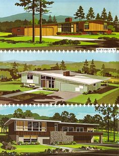 Everything You Need to Know About Mid-Century Modern Architecture! Home design ideas: Architecture design ideas for your interior design project! Exterior Paint Colors For House, Paint Colors For Home, Bg Design, Home Design, Design Ideas, Interior Design, Mid Century House, Mid Century Style, Mid Century Ranch