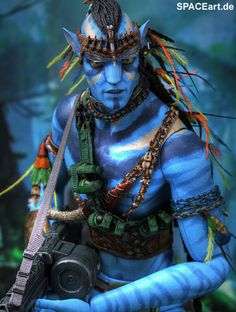 Hot Toys Jake Sully Avatar Action Figure for sale online Avatar Films, Avatar Movie, Avatar James Cameron, Avatar Theme, Stephen Lang, Avatar World, Movie Party, Movie Costumes, Sully