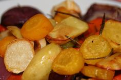 Winterküche:: Ofengemüse Snack Recipes, Snacks, Chips, Fruit, Food, Roast, Cooking, Snack Mix Recipes, Eten