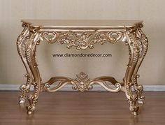 IN STOCK....NO WAITING HOLLYWOOD GLAMOROUS GOLD COLOR FINISH FRENCH REPRODUCTION BAROQUE ROCCOCO DECORATOR CONSOLE TABLE LOUIS XVI STYLE. HAND CRAFTED AND CUSTOM MADE. OTHER FINISH COLORS AVAILABLE. F