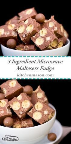 This indulgent 3 ingredient Microwave Maltesers Fudge is made in just 10 minutes! A great no bake treat that would make a lovely edible gift for Christmas or birthdays. Click through for the simple step by step recipe! Xmas Food, Christmas Cooking, Christmas Fudge, Christmas Hamper, Christmas Desserts, Food Gifts For Christmas, Christmas No Bake Treats, Fudge Brownies, Gastronomia