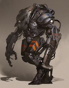 ArtStation - sketch robot, Petr Morozoff