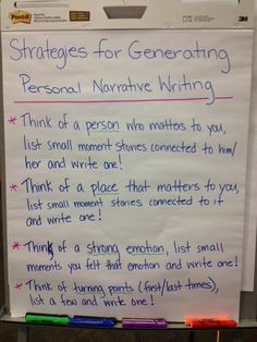 What are some ideas for a narrative essay?