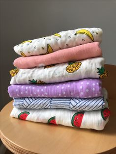 All our swaddle wraps sitting pretty