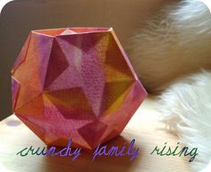 Starry Dodecahedron Lantern