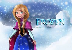 *PRINCESS ANNA ~ Frozen, 2013......in this pic she reminds me of Anne of  green gables