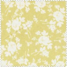 Cottage Romance, Yellow Relief Floral