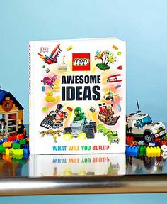 This LEGO® Awesome Ideas Book gives you the inspiration you need to create amazing models. Journey through five incredible worlds bursting with hundreds of new fan-approved ideas and building tips. Use color photos and step-by-step visual breakdowns to