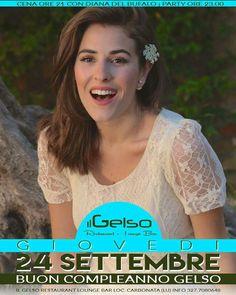 #DianaDelBufalo Diana Del Bufalo: Vi aspetto a Lucca belli pelosoni miei! Se famo na magnata insieme!