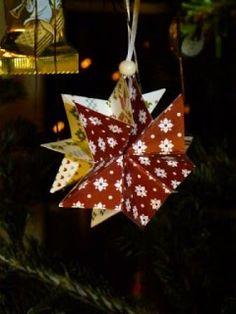mamamisas welt: Einfache Sterne falten