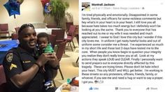 Slain officer's FB post days before death