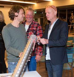 Domien Coppelmans & John Körmeling & Reinier van Abbe. #tijdcapsule #liefdevoordestad