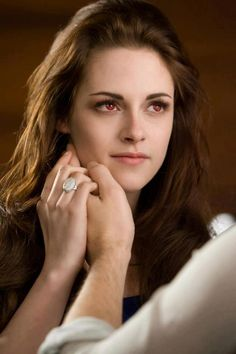 Edward : Bella your beautiful were the same tempture now  (Bella grabs him and pulls him into a hug not know how strong she is)  Edward: um Bella your a lot Stronger then me right now it's your turn not to brake me  (She lets go)  Bella : I love you  Edward: I will always love u
