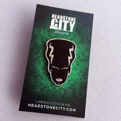 #Repost @headstone_city  Our exclusive Bride of Frankenstein enamel pin is now available for purchase! A perfect Valentine's Day gift for your valentine lover or non-lover or soon-to-be lover or even ex-lover; for that matter. Any way you slice it the monster-lover in your life will love it!  Get one now at HeadstoneCity.com!  #horror #horrorfan #horrormerch #horrorcollector #headstonecity #classichorror #horrorfanatic #halloween #horrorlover #horrorjunkie #horrorpins #instahorror…