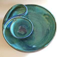 Chip and Dip, handmade ceramic dish, ceramics and pottery on Etsy, $103.76 CAD