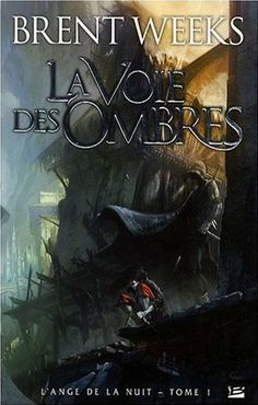 """Night Angel Trilogy Book one, French cover. """"The Way of Shadows"""" just finished this. READ IT."""