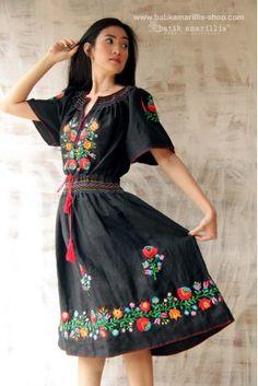 batik amarillis's aniko dress