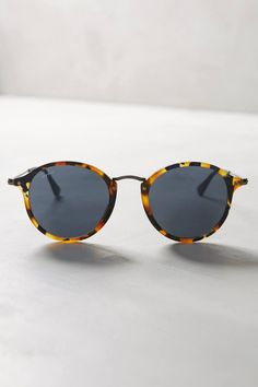 Round Icon Sunglasses by Ray-Ban #anthrofave #anthropologie