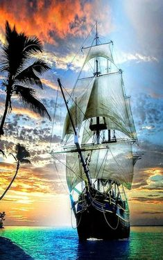 Pirate Ship Tattoos, Boat Wallpaper, Pirate Art, Pirate Crafts, Pirate Ships, Old Sailing Ships, Ship Drawing, Ship Paintings, Ghost Ship