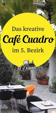 Ein buntes Angebot & ein süßer Gastgarten. Restaurant Bar, Vienna, Restaurants, Coffee, Plants, Travel, Secret Places, Coffee Cafe, Road Trip Destinations