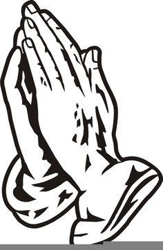praying hands clipart craft ideas pinterest praying hands rh pinterest com Praying Hands Clip Art Black and White Woman Praying Hands Clip Art
