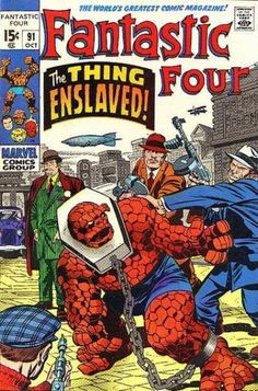 The Best - Thing (Ben Grimm) Comic Covers