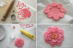 Sugarpaste flower tutorial