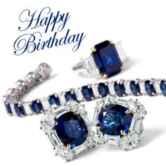 Give the #birthday #gift of #sapphires, this months #birthstone is up to 50% off now thru #September. #HappyBirthday