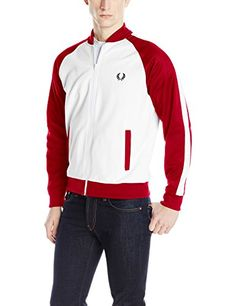 Fred Perry Men's Bomber Track Jacket  http://www.allmenstyle.com/fred-perry-mens-bomber-track-jacket-2/