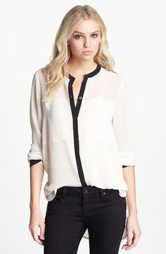 Sanctuary 'New Café' High/Low Tunic available at #Nordstrom