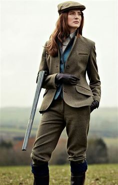 Tweed is always classic.