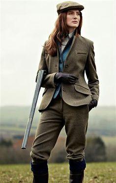 Tweed is always classic.