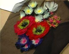Atelier Lemarié for Roger Vivier. - feather flowers