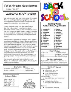 School Newsletter Ideas  Google Search  School    School
