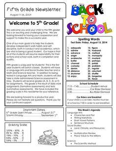 School Newsletter Ideas  Google Search  School    School
