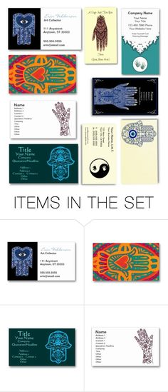 """Business Cards: Indian Hands for Interpreters"" by audreyterp ❤ liked on Polyvore featuring art"