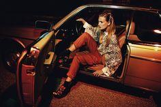Ophelie Rupp by Andrea DAquino for <em>Posh Magazine</em> Styling Daniel Balks and Arkadius Giesek