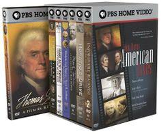 Ken Burns - American Lives (Thomas Jefferson / Lewis & Clark / Frank Lloyd Wright / Elizabeth Cady Stanton & Susan B Anthony / Mark Twain / Horatio's Drive / Unforgivable Blackness) DVD ~ Edward Herrmann, http://www.amazon.com/dp/B000ANVQ50/ref=cm_sw_r_pi_dp_muJItb0VADT5A