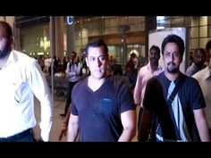 SULTAN Salman Khan spotted at Mumbai airport.