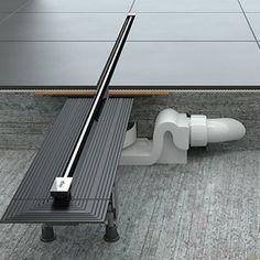 Линейният сифон Viega Advantix Vario осигурява уникално съчетание на превъзходен дизайн, лесен монтаж и оптимизирана складова логистика. Благодарение на скоростта на оттичане до 0,8л/сек той гарантира освен това и обезводняване с безупречна хигиена.