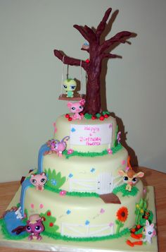 Littlest pet shop — Children's Birthday Cakes
