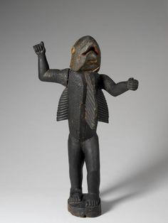 Statue royale anthropo-zoomorphe représentant le roi Béhanzin, dernier roi du Dahomey (1890-1894). Statues, Sculptures, Lion Sculpture, Ceramic Figures, Traditional Art, Darth Vader, Fictional Characters, News, King