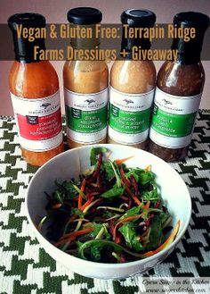 An Opera Singer in the Kitchen: Vegan and Gluten-Free: Terrapin Ridge Farm Dressings and Sauces {Review + Giveaway}