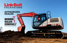 Link-Belt Excavators are the Perfect Fit for Industrial Sized Projects Big Bucket, Hydraulic Pump, Fuel Economy, Link, Perfect Fit, Saving Money, Industrial, Belt, Fitness