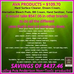 Ava Anderson Non Toxic products are absolutely amazing Love having safe products for us as well as our environment ❤️ Shop & order from home on my secure website: www.avaandersonnontoxic.com/suemarshall Visit & like my consultant page https://www.facebook.com/pages/Ava-Anderson-Non-Toxic-Consultant-Sue-Marshall/533971496704013
