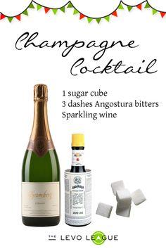 Champagne Cocktail #12DaysofMcKay #elizabeth_mckay